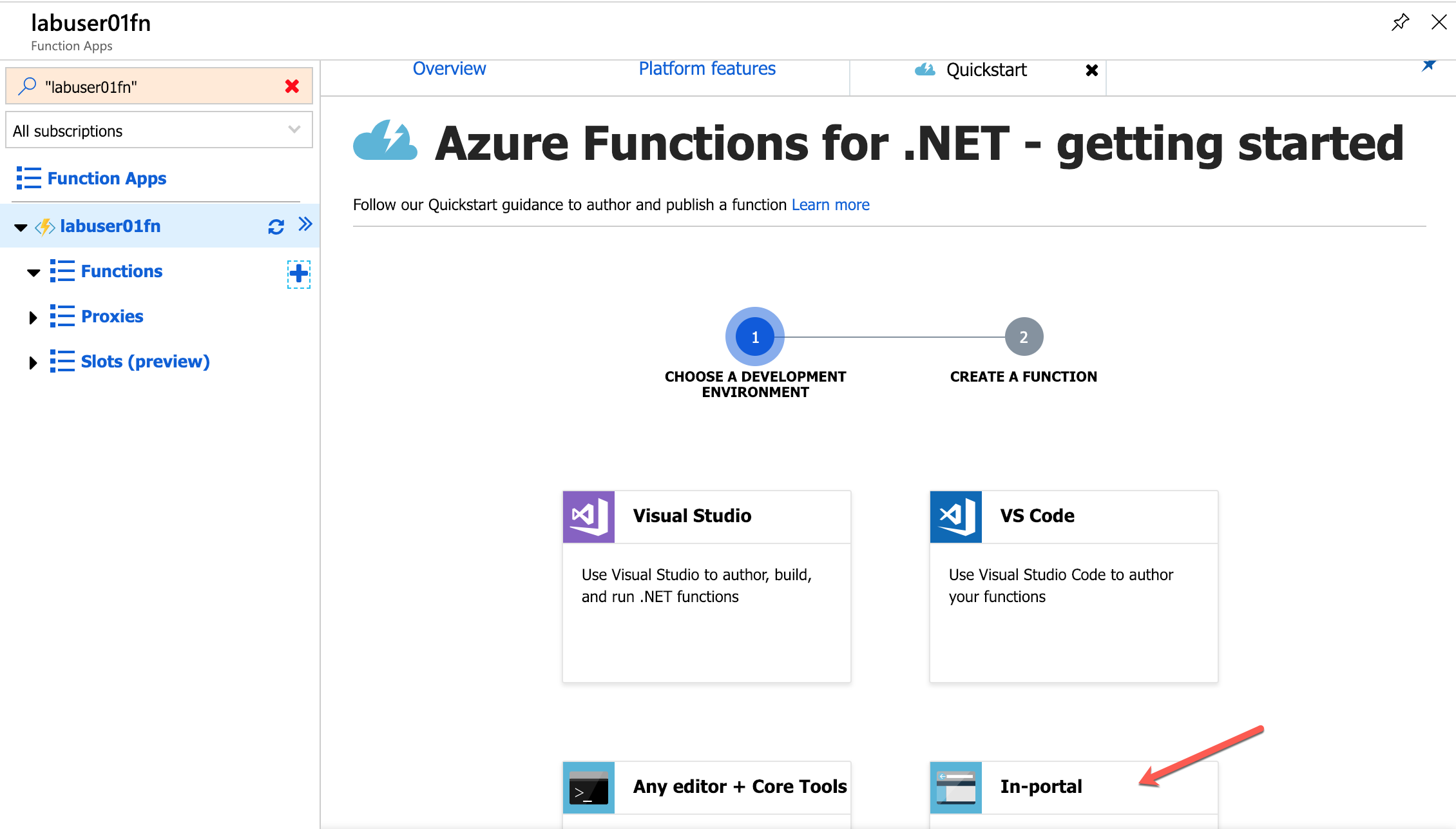 Azure Hands on Labs - Serverless with Azure Functions